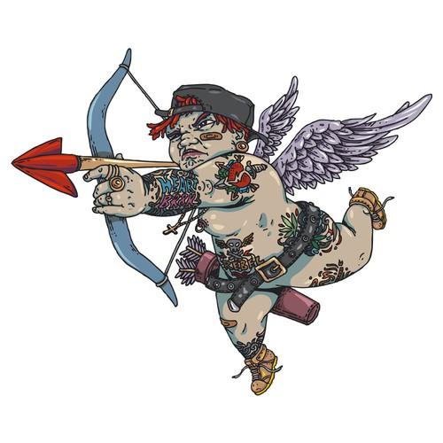 Heart Br8K Rebel Cupid