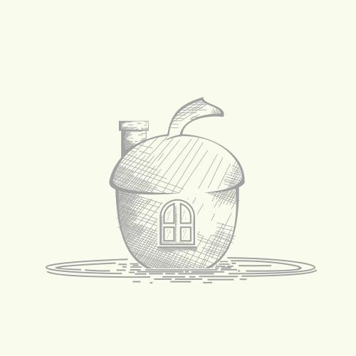 "Classic logo for Travel & Hotel ""OakNut cove"""