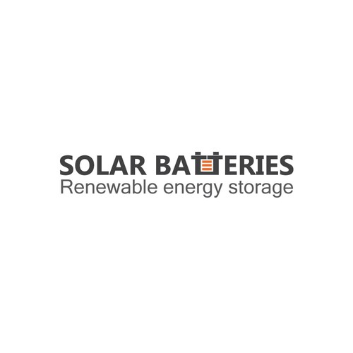 "Create an inspirational logo design for cutting edge brand - ""Solar Batteries""."