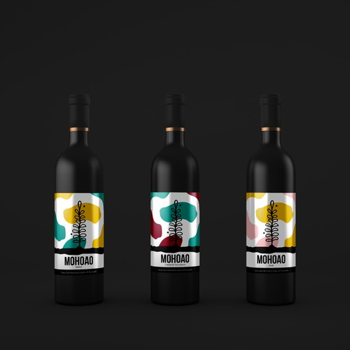 MOHOAO Label Design