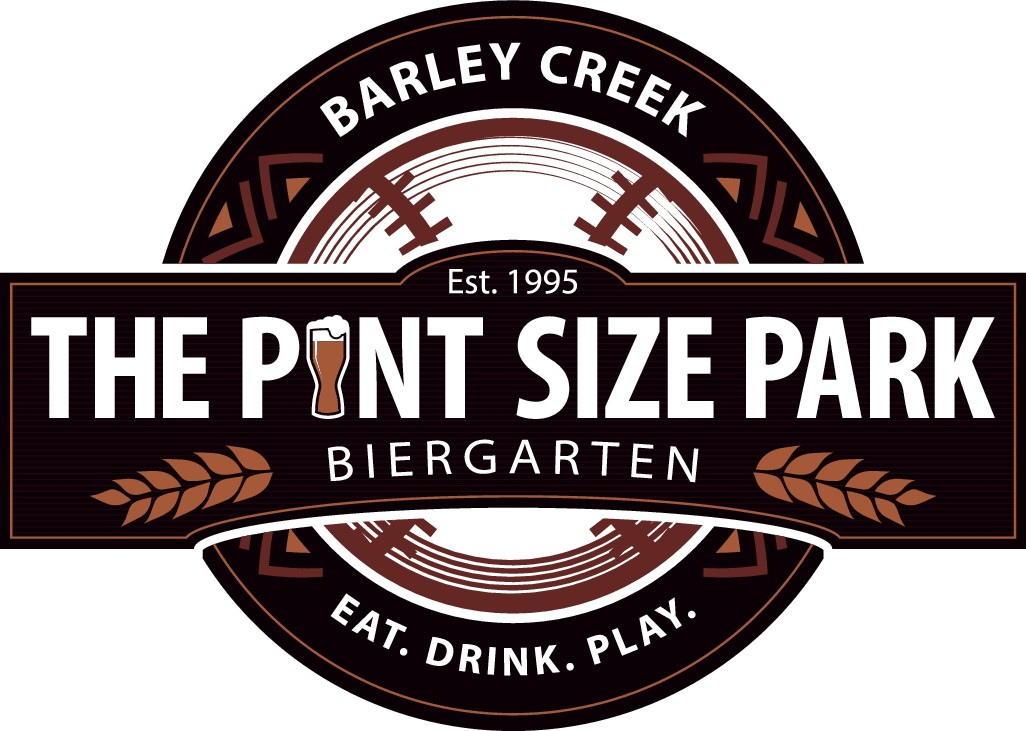 Barley Creek Pint Size Park Biergarten Crest