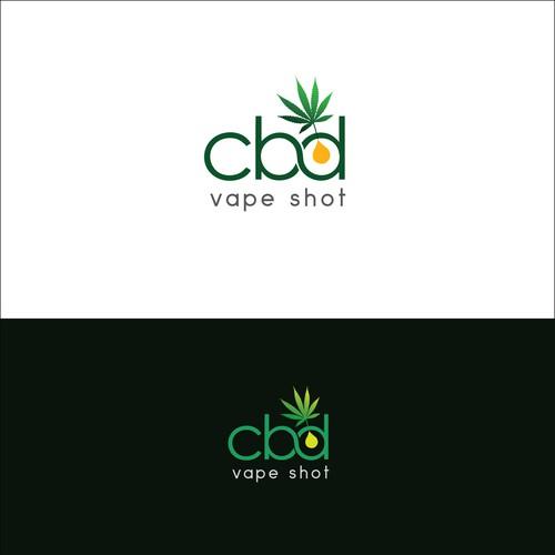 Cannabidiol logo design -2