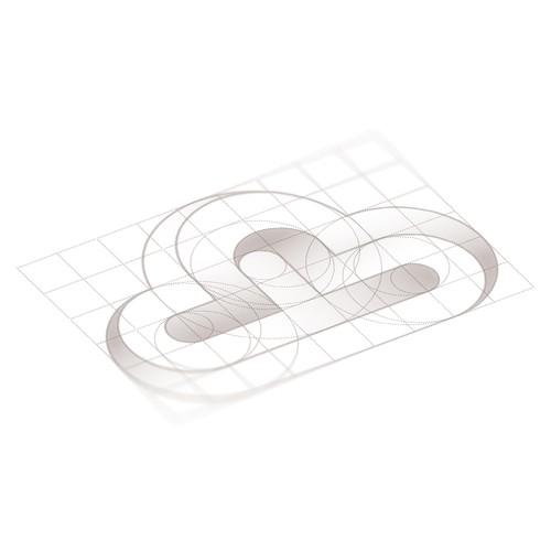 Illusion logo concept