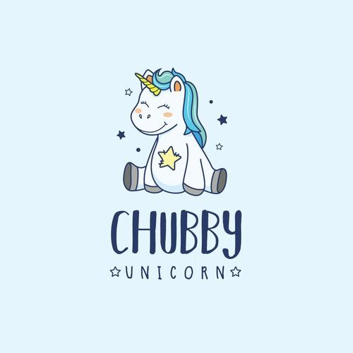 Chubby Unicorn Logo