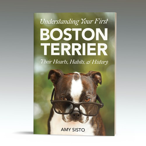 Eyecatching pre-made cover available about Boston Terriers