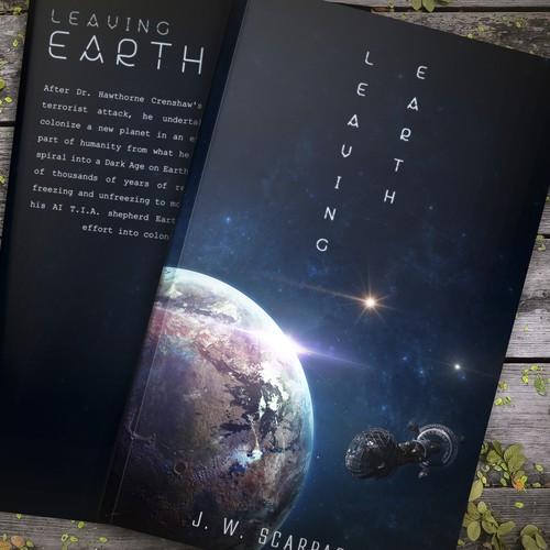 Cover Design For A Sci-Fi Novel
