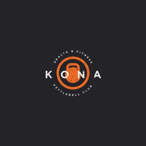 Kettlebell Club Logo Design