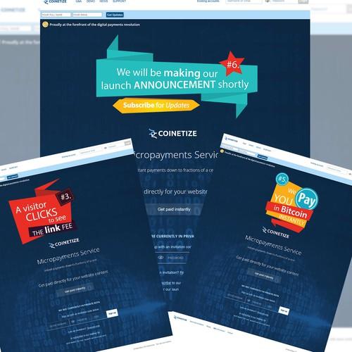 Banner for homepage slides