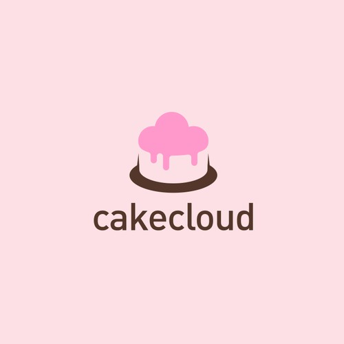 Logo for an online cake delivery business