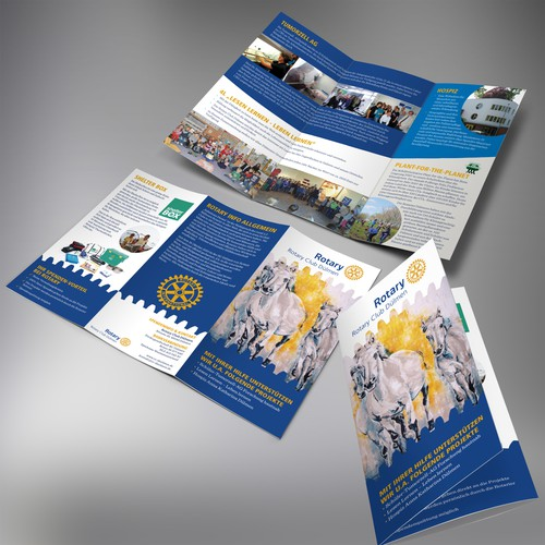 Rotary Project Folder: Present Projects with given image