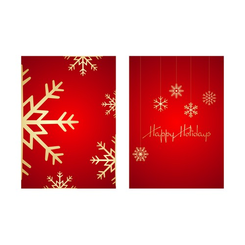 Help 99designs create a set of fun 'Happy Holiday' cards!