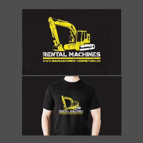 Trendy vintage Billboard for Machinery rental