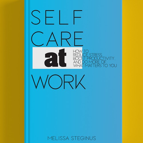 Book cover about selfcare at work