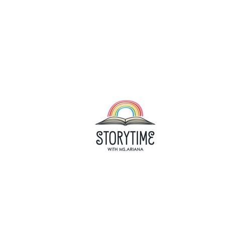 Logo for book reading
