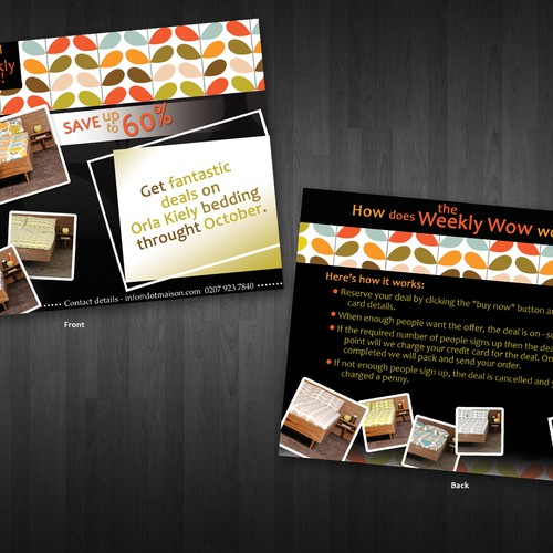 A5 Flyer to Advertise Website Special Offer