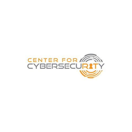 Bold and clean logo design for CYBERSECURITY