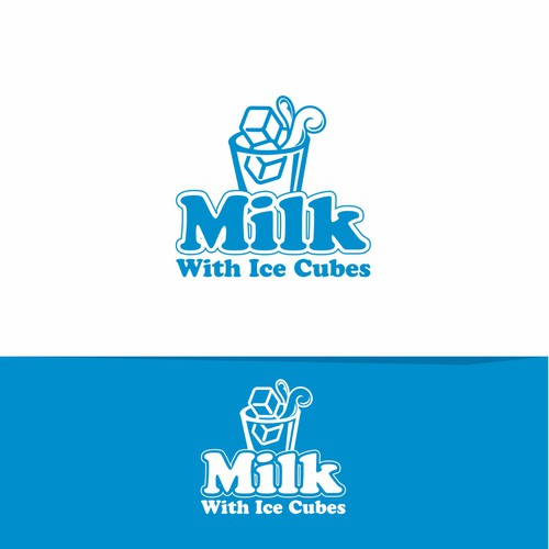 Milk With Ice Cubes logo