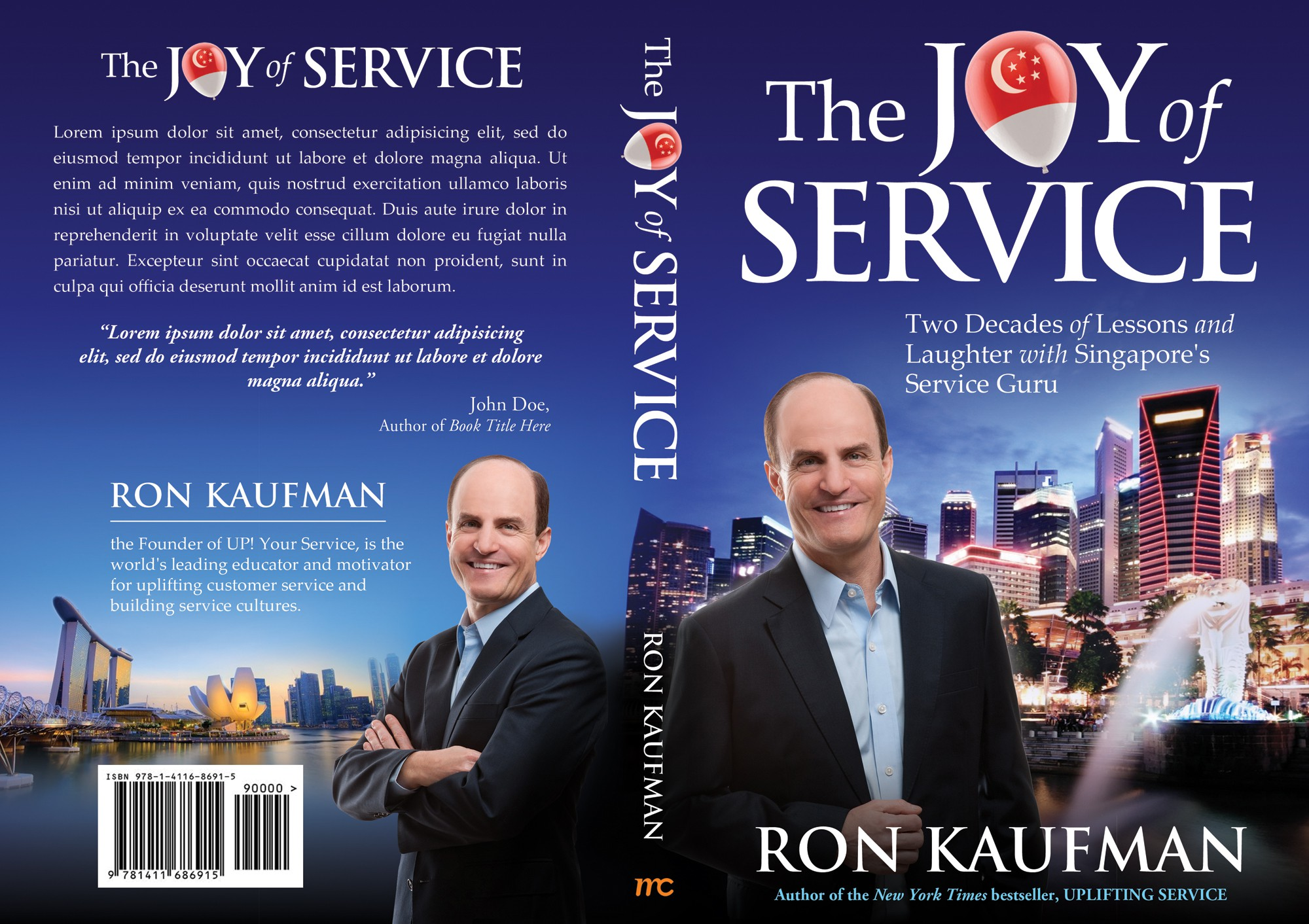 """Book Cover for """"The Joy of Service"""""""