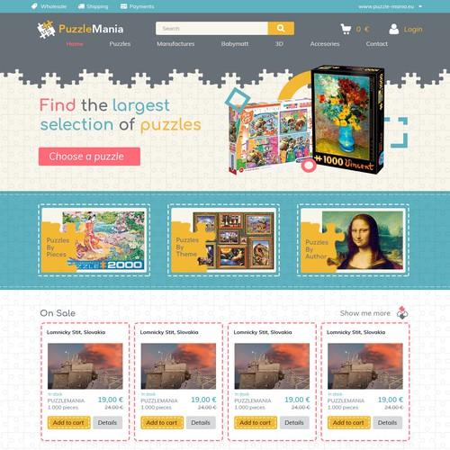 puzzle e-comerce