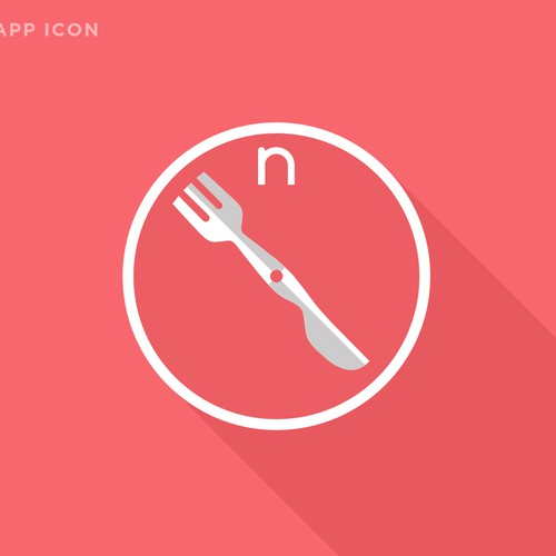 Your expertise needed on quirky, food-related mobile app logo!
