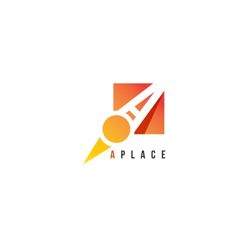 Aplace- logo design