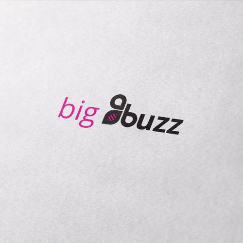 Minimal, modern logo bee logo