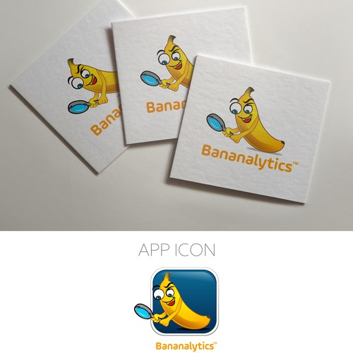 Banana Logo for Analytics service