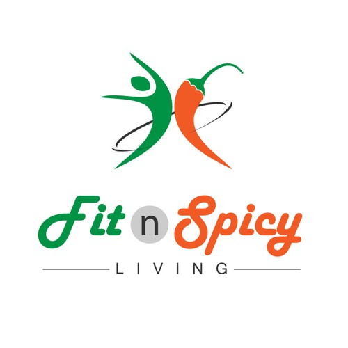 Help FitnSpicy Living	 with a new logo