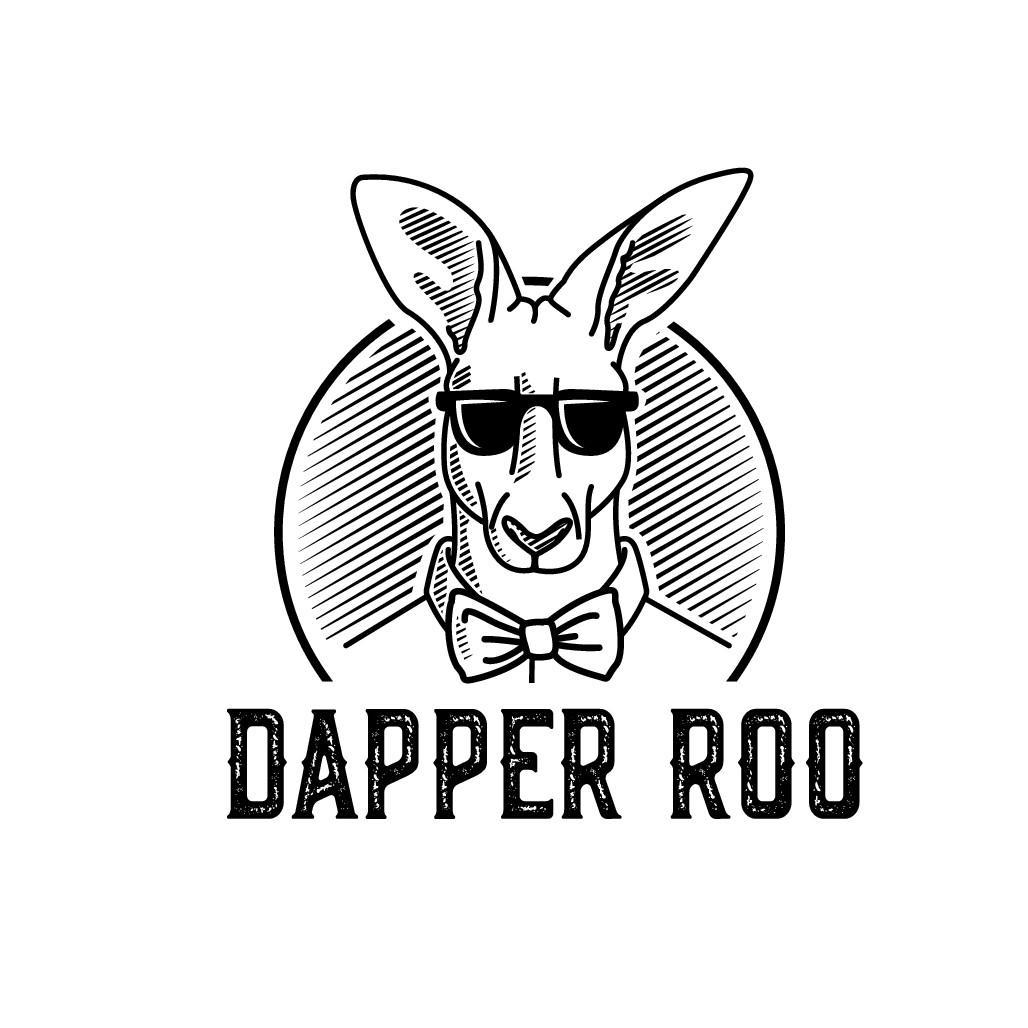 Dapper Roo Logo for Australian Menswear Brand - *Illustrators*