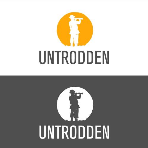 "Create an inspiring logo for an ""off-the-beaten-path"" online travel company"