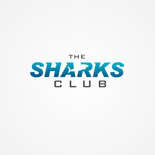 DESIGN a logo for THE SHARKS CLUB