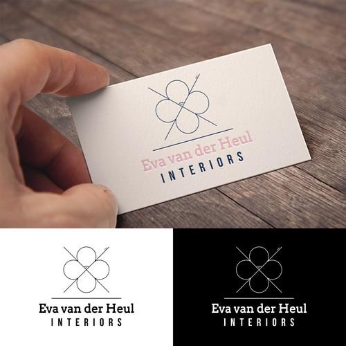 Logo design concept for enterior designer