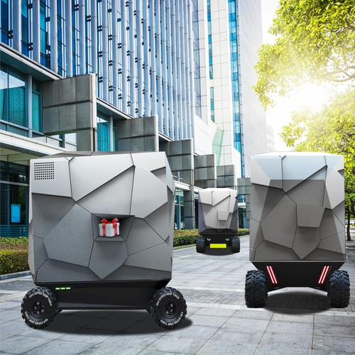 Urban Parcel Delivery Vehicle