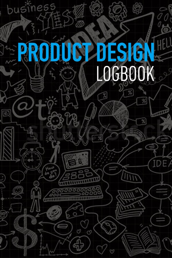 "Book cover for ""Product Design Logbook"" -- Need clean subtle cover; possible multiple awards"
