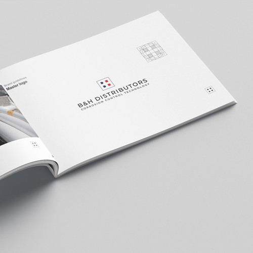 Brand guide for industrial company.