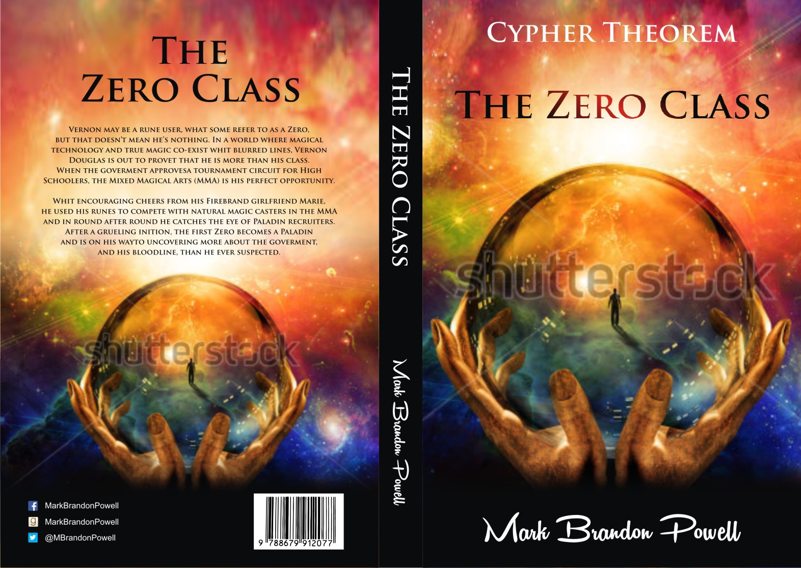 The Zero Class (Cypher Theorem vol 0) cover for Guardian Bear Publishing