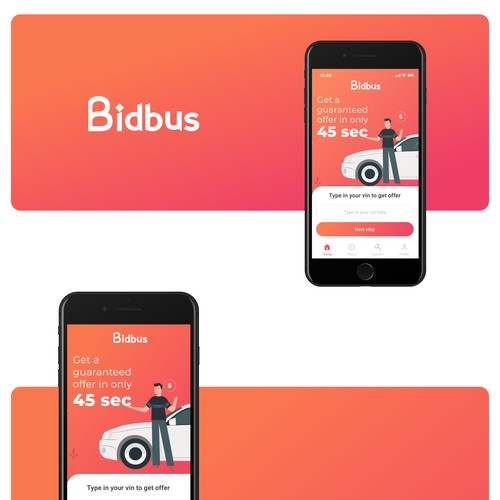 App design for Bidbus