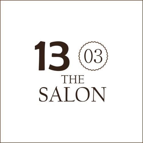 Logo for Thirteen 03 the salon (not win)
