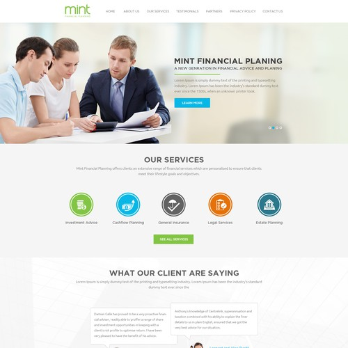 financial advice company