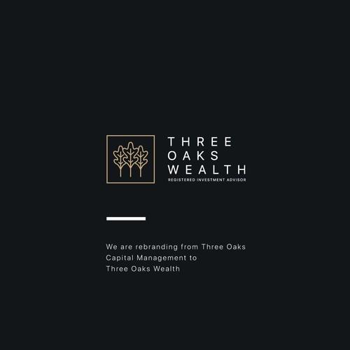 Logo Ideas for Three Oaks Wealth