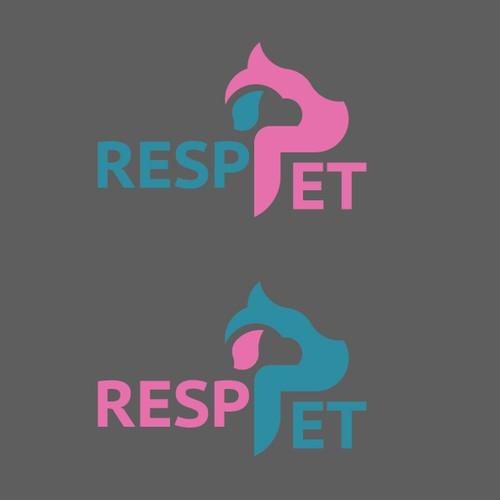 Resppet logo design