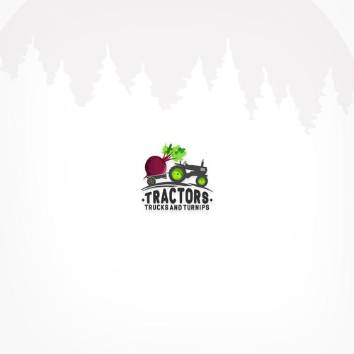 Tractors - Trucks - Turnips Logo