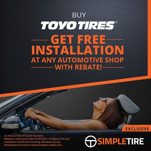 Facebook ad for Toyo Tires