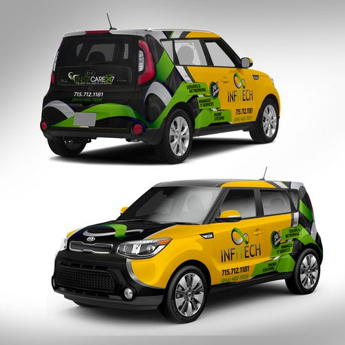 KIA Soul Wrap Design