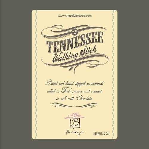 Label Tennessee Walking Stick