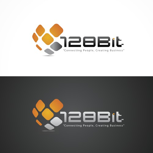 128Bit Logo Redesign for Web Solutions Company