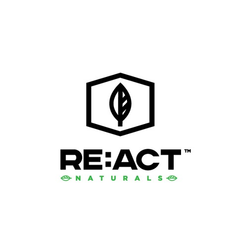 Create the next logo for Re:Act Naturals