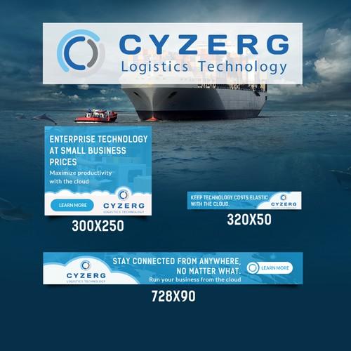 Banner Design For CYZERG Logistic Technology