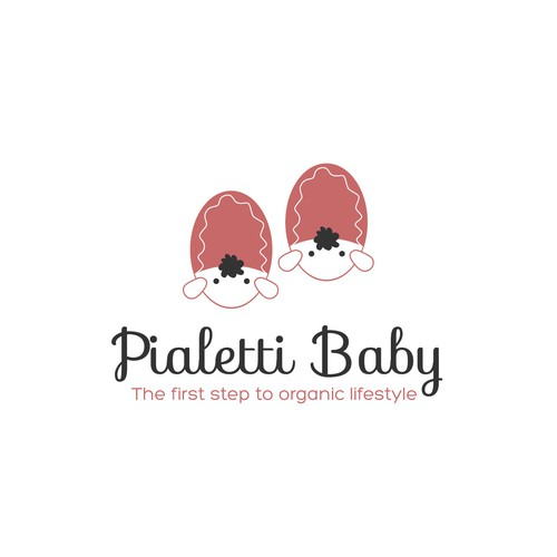 Baby Bootee Brand Logo Design
