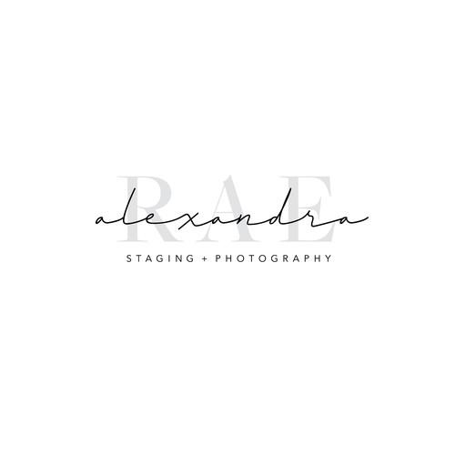 Real estate photography logo
